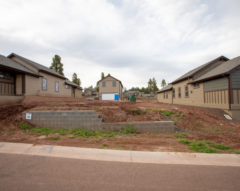 Photo of new home site in Flagstaff - land we are building a new home on in Flagstaff